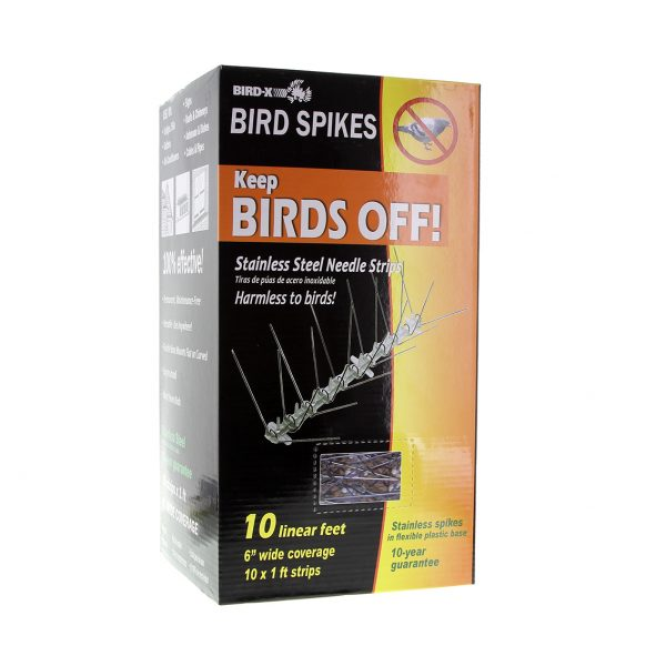 Retail Pack Stainless Spikes - 3 Metres-124
